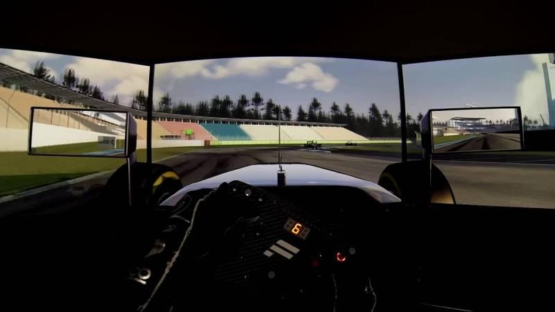 Renta de simuladores F1