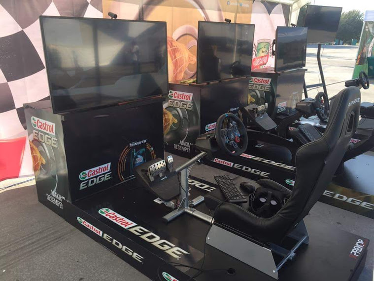 simuladores de carreras castrol