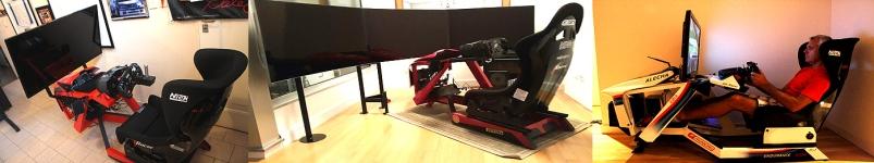 Simuladores racing, nascar,formula 1