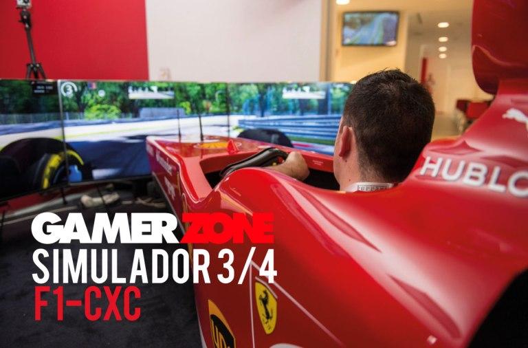 Simulador profesional F1