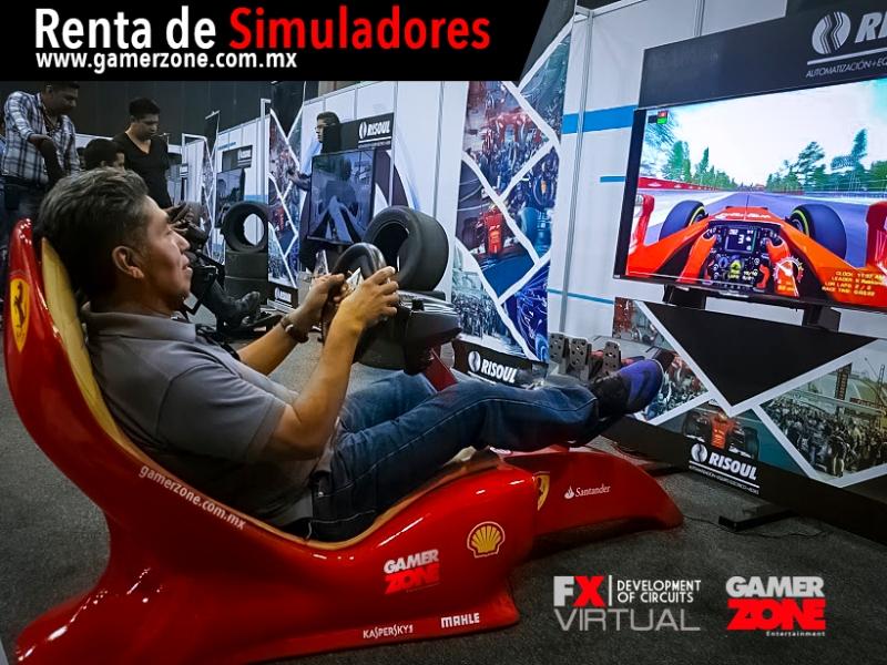 Simuladores de Carreras F1, Carreras
