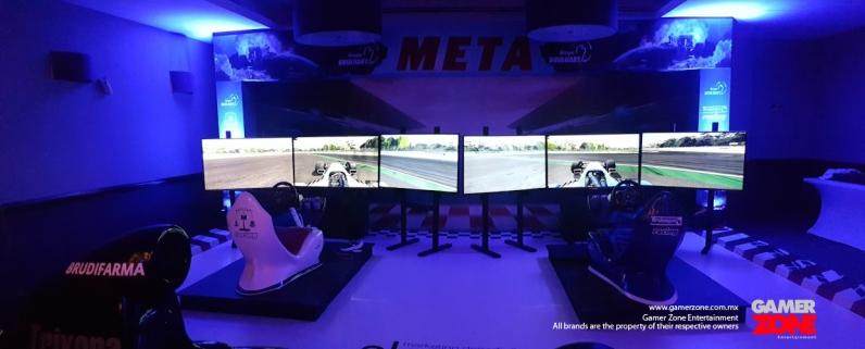 Simuladores formula 1 para eventos deportivos, eventos de marketing y experiencias de la F1 en México