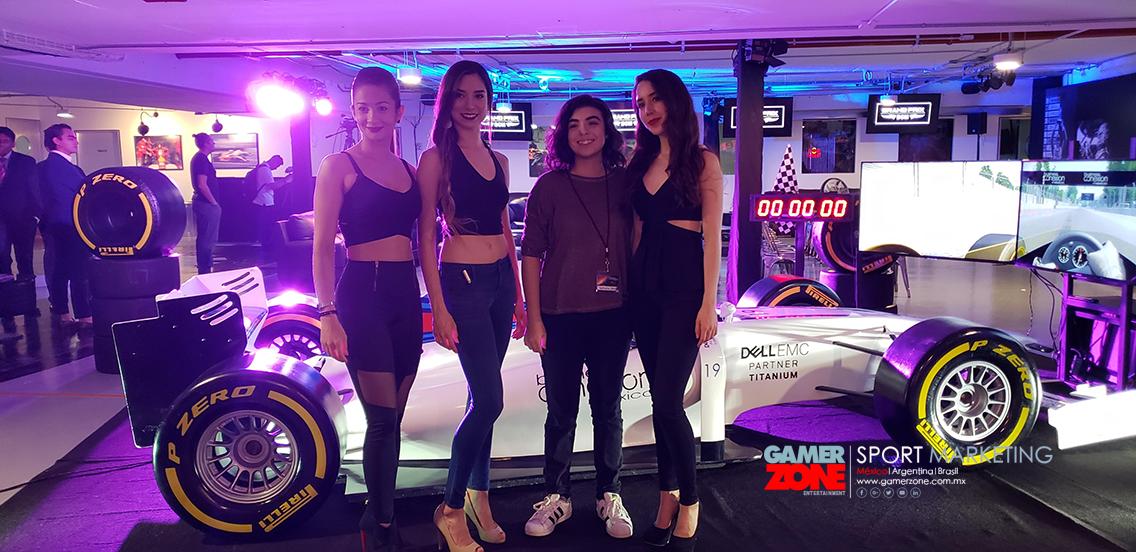 Simulador de carreras formula para eventos y diversión, nuestros pilotos son 100% profesionales para testear los simuladores de Gamer Zone