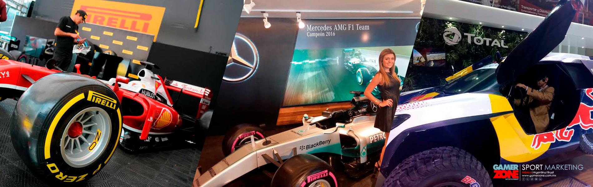 Simulador de carreras para expos o eventos