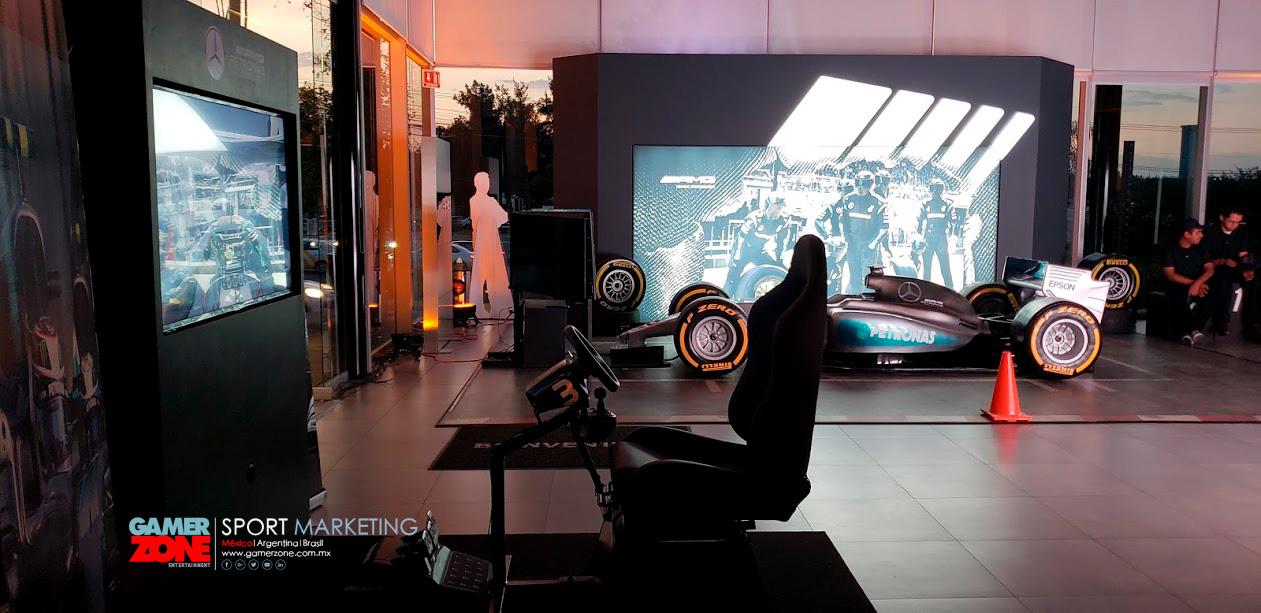 renta de simuladores de carreras para eventos