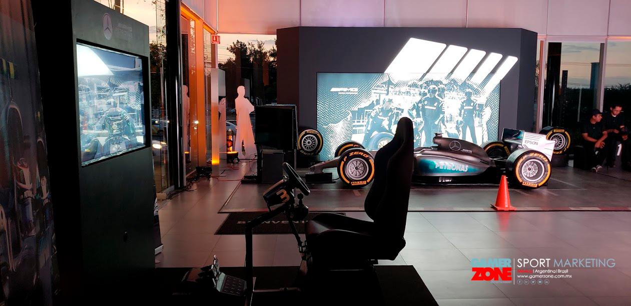 Simulador de Autos de carreras mexico