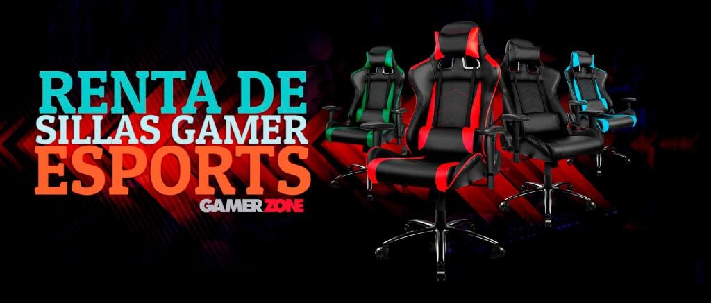 Renta de sillas gamer en México